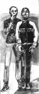 Athens Voice, Πίσω στο μαύρο! Η ζωγράφος Μαρίνα Κροντηρά αγαπά τα μελάνια, τις μεγάλες φόρμες και την Έιμι Γουάινχαουζ