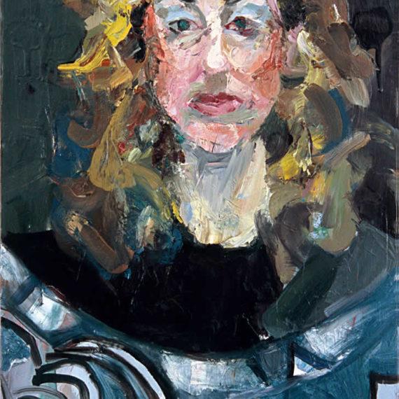 πορτρέτα Γιώτα 2003, λάδι σε καμβά 60 x 40 εκ.Γυναίκες Agathi Kartalos -Ιδιωτική συλλογή