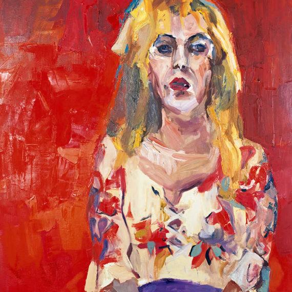 πορτρέτα Ράνια 2003, λάδι σε καμβά 120 x 80 εκ. Γυναίκες Agathi Kartalos