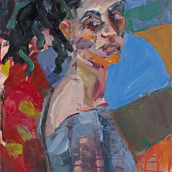 πορτρέτα Η Αλεξάνδρα 2003 λάδι σε καμβά 60 x 40 εκ.Γυναίκες Agathi Κartalos