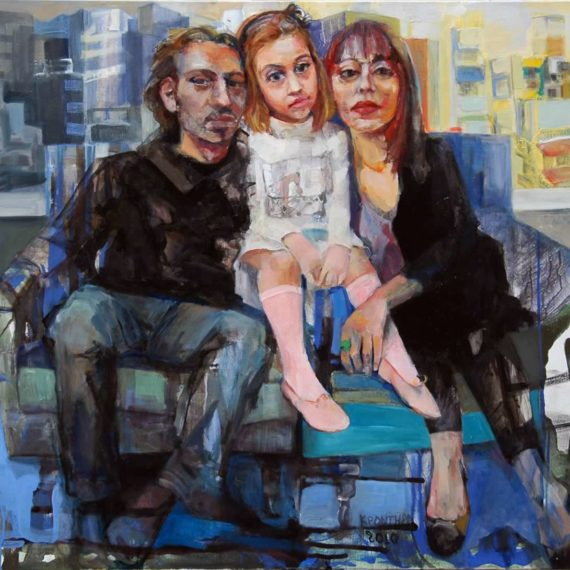 portraits Family portrait 2009,oil on canvas100 x 110 cm. Private collection.