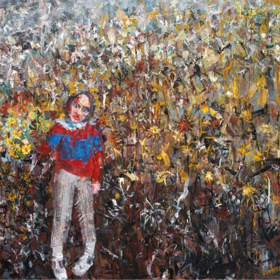 πορτρέτα O μυστικός κήποs 2007 λάδι σε καμβά,160 x 180 εκ. Mουσείο Μπενάκη-Συλλογή Alpha Trust